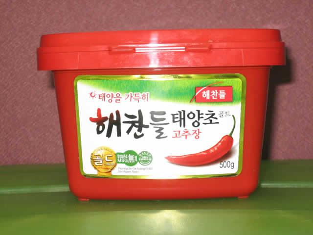 Korean hot pepper paste 500g (red sauce)