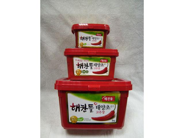 韩式辣椒酱1kg(红酱)(图中)