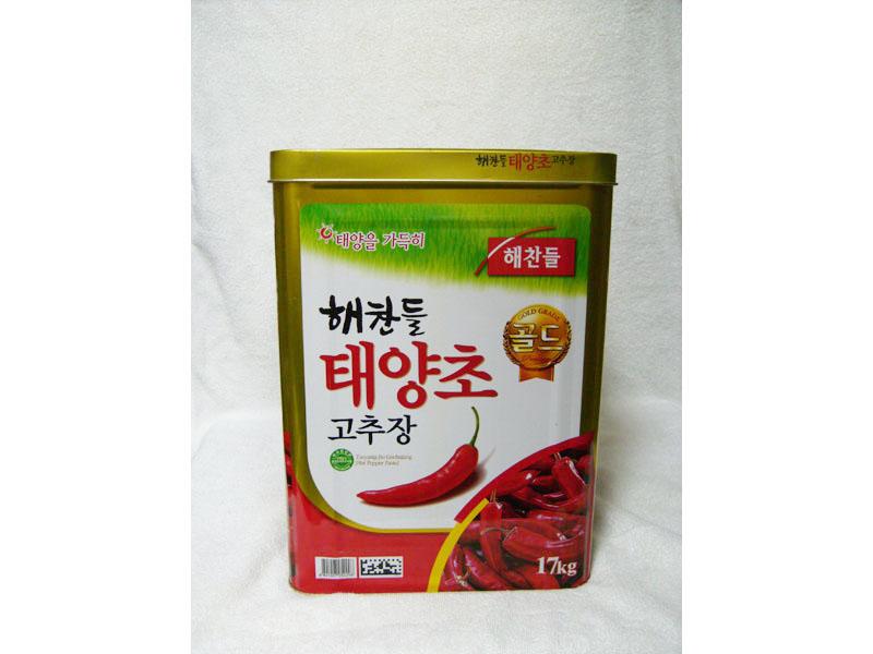 韩式辣椒酱17kg(红酱)