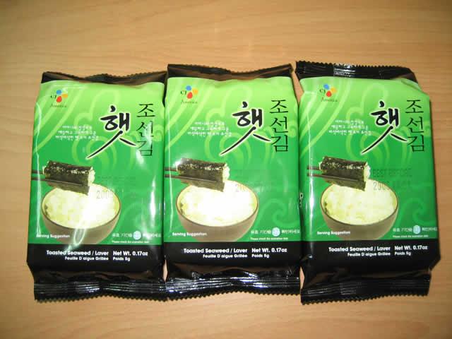 朝鲜海苔15g(切片)(5g*3包)