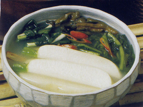Authentic traditional Korean kimchi (water liquid) (shop futures