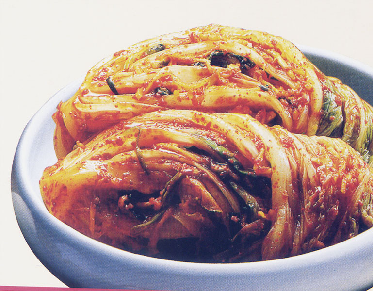 Authentic traditional Korean kimchi (whole pieces) (shop futures